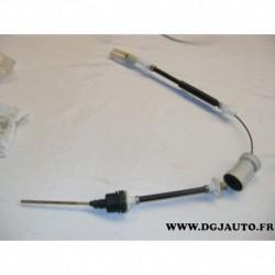 Cable embrayage avec reglage manuel pour citroen ZX 96104679