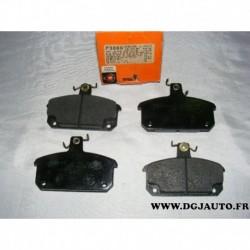 Jeux 4 plaquettes de frein avant montage girling pour renault 4 18 20 R4 R18 R20