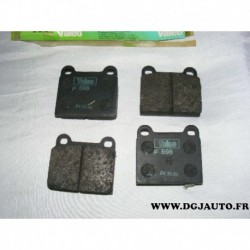 Jeux 4 plaquettes de frein avant montage teves pour opel ascona A kadett C BMW 1502 1600 mercedes W116 W123 W126 volvo 240 242 2