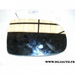 Glace miroir vitre de retroviseur avant droit degivrante pour opel corsa C de 2000 à 2006