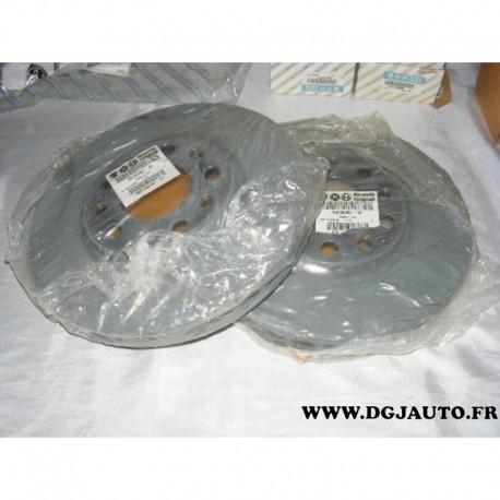 Paire de disque de frein avant ventilé 281mm diametre pour alfa romeo giulietta