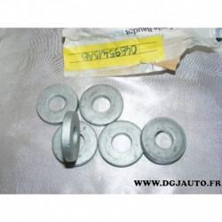 Lot 2 rondelles fixation tirant suspension amortisseur avant 04895415AB pour chrysler 300 dodge challenger charger magnum WD75