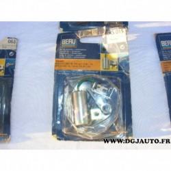 Jeu de contact vis platinée rupteur + condensateur allumage allumeur ducellier DKS015 pour renault 9 11 1.1