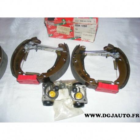 Kit frein arriere prémonté 180X30mm montage bosch GSK1260 pour peugeot 206 206+ 1.1 1.4 1.6 1.4HDI