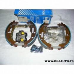 Kit frein arriere prémonté 228X40mm montage bendix 381339B pour peugeot 406 dont break sans ABS