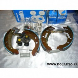 Kit frein arriere 228X40mm montage bendix 381339B pour peugeot 406 dont break sans ABS