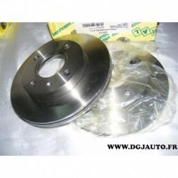 Paire disque de frein ventilé 240mm diametre 41111 pour ford escort fiesta ka orion puma mazda 121
