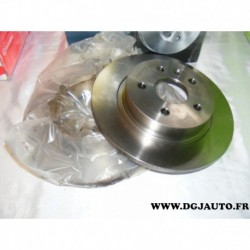 Paire de disque de frein arriere plein 268mm diametre 0986479645 pour opel astra J mokka chevrolet cruze