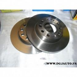 Paire de disque de frein arriere plein 255mm diametre 08991820 pour audi A4 8E5 8ED 8H7 8E2 8EC