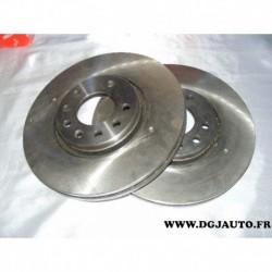 Paire de disque de frein avant ventilé 302mm diametre 09916214 pour opel signum vectra C cadillac BLS saab 93 9-3