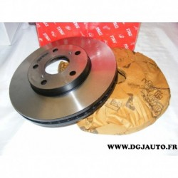 Paire disque de frein ventilé avant 275mm diametre DF1431 pour toyota avensis verso camry previa tarago