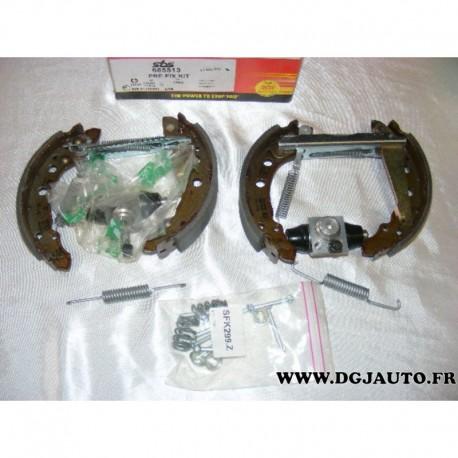 Kit frein arriere 180x31mm montage ATE pour seat arosa volkswagen lupo polo 2 santana passat B2