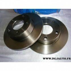 Paire disque de frein plein 245mm diametre D2245 pour volkswagen passat B5 B5.5 audi A4 S4