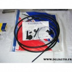 Kit cable accelerateur 101177 pour peugeot 406 essence et diesel