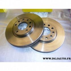 Paire disque de frein avant 300mm diametre ventilé MDC765 pour mercedes 190 W201 W124 R129