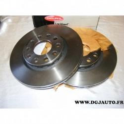 Paire disque de frein 280mm diametre ventilé BG3869 pour audi A8 volkswagen phaeton 2.8 3.0 3.2 V6 VR6