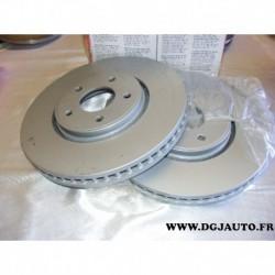 Paire disque de frein avant 320mm diametre ventilé J3301009 pour infinity EX G37 Q60 Q70 QX50