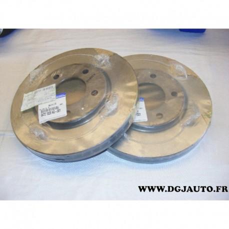 Paire de disque de frein avant ventilé 281mm diametre 04721820AG pour chrysler 300C voyager 4 sebring dodge avenger caravan