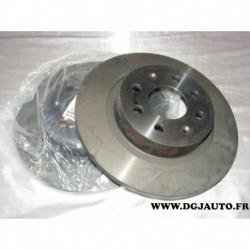 Paire disque de frein arriere 264mm diametre plein 55700592 pour fiat grande punto et punto evo
