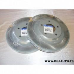Paire disque de frein avant 294mm diametre ventilé 05105514AA pour jeep compass patriot dodge caliber chrysler sebring