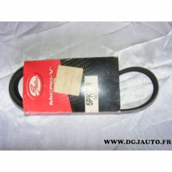 Courroie accessoire 5PK908 pour alfa romeo 145 146 155 BMW E34 E36 E38 E39 renault clio 1 2 kangoo twingo fiat croma tempra tipo