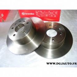 Paire disque de frein arriere plein 286mm 08701510 pour opel vectra B dont break