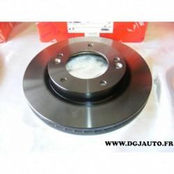 Paire disque de frein avant ventilé 302mm 09954510 pour kia sorento FY