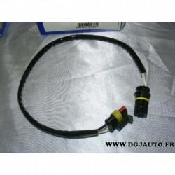 Cable faisceau fiche connecteur adaptateur branchement sonde lambda 13849