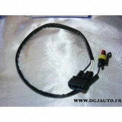 Cable faisceau fiche connecteur adaptateur branchement sonde lambda 13833