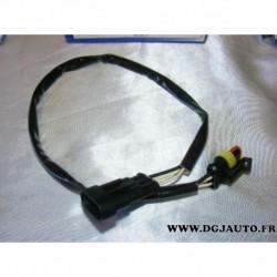 Cable faisceau fiche connecteur adaptateur branchement sonde lambda 13828