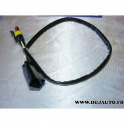 Cable faisceau fiche connecteur adaptateur branchement sonde lambda 13846