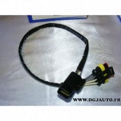 Cable faisceau fiche connecteur adaptateur branchement sonde lambda 13847
