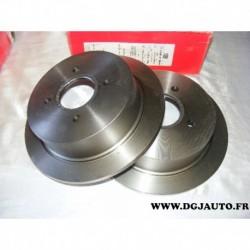 Paire disque de frein arriere plein 270mm diametre 08580810 pour ford escort 5 6 7 orion 2 dont XR3i RS