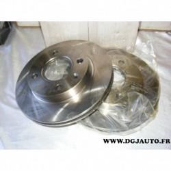 Paire disque de frein ventilé 239.5mm diametre 41111 pour ford escort fiesta ka orion puma mazda 121