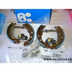 Kit frein arriere NON prémonté 228X40mm montage bendix 381339B pour peugeot 406 dont break sans ABS