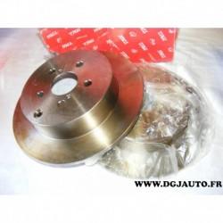 Paire disque de frein arriere plein 280mm diametre DF4417 pour toyota avensis T25 dont break
