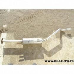 Silencieux echappement central intermediaire 90409094 pour opel astra F 1.7D 1.7 D diesel