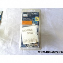 Jeu de contact vis platinée rupteur et condensateur allumage allumeur bosch BKS063 pour ford fiesta 1 2 1.1 1100 de 76 à 85
