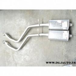 Silencieux echappement central intermediaire PG35379 pour peugeot 306 1.1 1.4 1.6 1.8 essence 1.8D 1.9D diesel