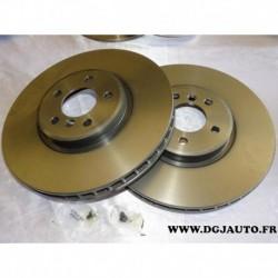 Paire disque de frein avant ventilé 365mm diametre 09.9921.11 pour BMW X5 X6 E70 E71 3.0 3.5 4.8 5.0 V8