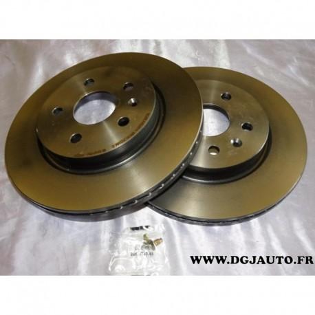 Paire disque de frein arriere ventilé 315mm diametre 09.A972.11 pour opel insignia chevrolet malibu