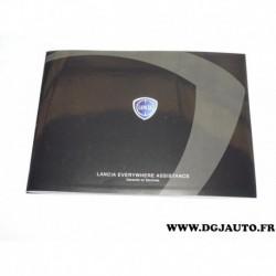 Livret manuel garantie et services 60397171 pour lancia musa partir 2007 phedra partir 2001