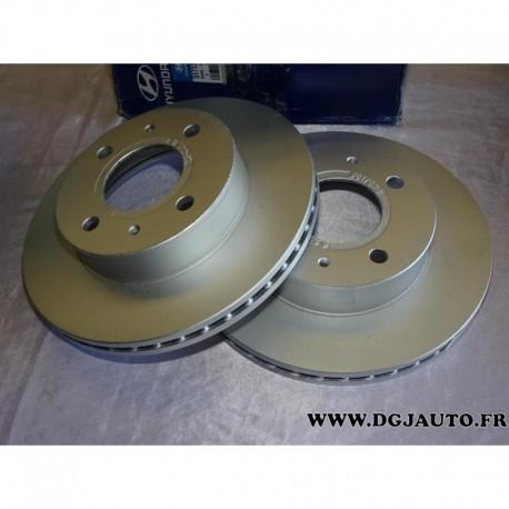 Eicher YH20049 Droite Avant Gauche Disque De Frein Kit 2 pièces diamètre 300 mm ventilé