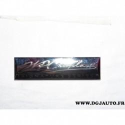 Plaque logo motif embleme calandre grille radiateur 05152415AA pour chrysler 200 300 avenger pacifica PT cruiser voyager