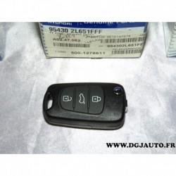Telecommande clé commande verrouillage ouverture porte 954302L651FFF pour hyundai i30
