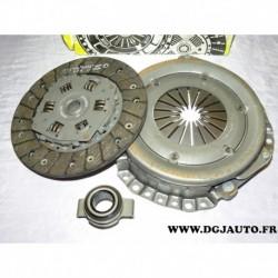 Kit embrayage disque + mecanisme + butée 620019106 pour peugeot 205 305 309 405 citroen BX C15 visa talbot horizon 1.7D 1.8D 1.9
