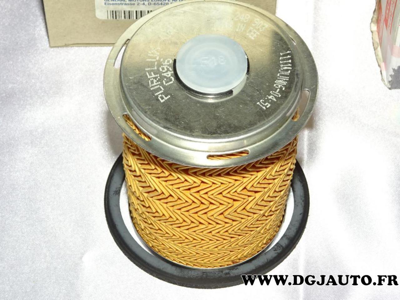 Filtre à carburant gazoil 9112191 pour opel movano A vivaro A renault master 2
