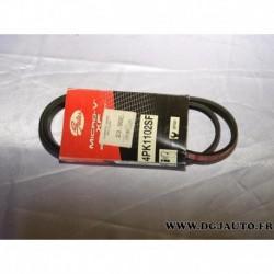 Courroie accessoire 4PK1102 SF pour citroen jumper peugeot boxer fiat ducato iveco daily partir 2006