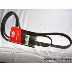 Courroie accessoire 6PK1888 pour citroen C5 C6 peugeot 407 607 2.7HDI audi A4 8EC 8E5 8ED B6 B7 mercedes 190 W201 W124 mitsubish