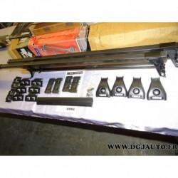 Paire barre de toit avec système verrouillage 4305 pour skoda octavia dont wagon partir 1997 seat toledo 4 portes partir 1999 le